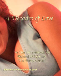 Book cover 4 DECADES OF LOVE songbook