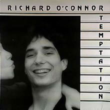 Temptation album cover of Richard O'Connor and The Rich