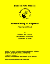 Shaolin Beginner Manual by Buddha Zhen
