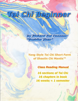 Student Manual for Tai Chi