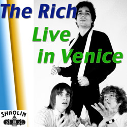 The Rich LIVE IN VENICE album cover