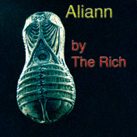 "SINGLE COVER for ""Aliann"" punk rock song by The Rich"