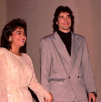 Richard Connor marries Raquel King 1986