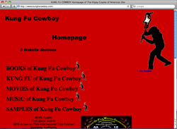 Official Website of Kung Fu Cowboy